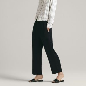 NEW Massimo Dutti Cargo Cropped Trousers Pants